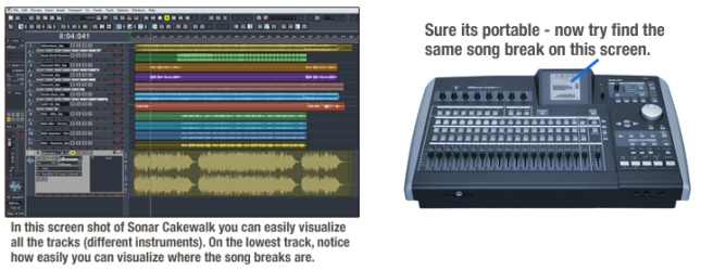 DAW Interface Screens