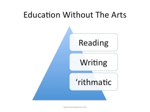Education without the arts
